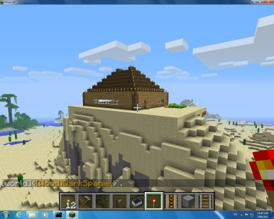 This is my house from a flying point of view