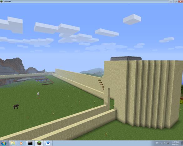 Sandstone castle 1